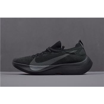 Mens and WMNS Nike Vapor Street Flyknit Black/Anthracite AQ1763-001